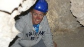48. Pete in cave