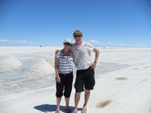 59. Us on salt flats