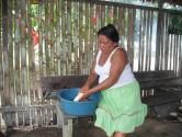 Preparing Yuka Bread
