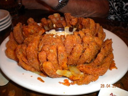 A 'Bloomin' Onion is apparently an Aussie savoury delight.