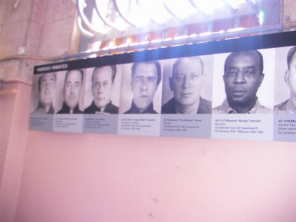"Hall of Fame: Some very famous criminals did time in Alcatraz, including Al Capone, Robert ""Birdman"" Stroud, Clint Eastwood???"