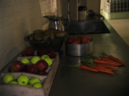 The Kitchen. Apparently the food served here was some of the best in the US penitentiary system. Always fresh and hot.