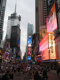 Doesn't matter what time of the day it is, Time Square is always busy!!!!