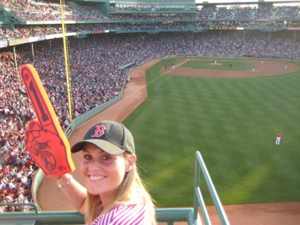 We couldn't go to a red sox game without one...