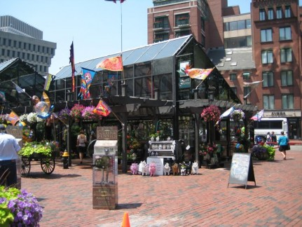 Take a walk through Quincey Market...