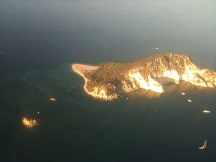 The Greek Islands from the air