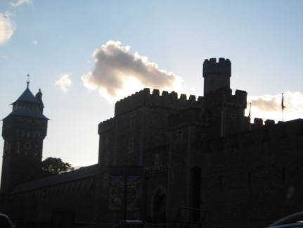 Cardiff Castle is smack bang in the middle of the city and is impossible to miss.