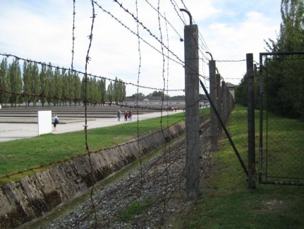 Dachau Concentration Camp is moving and shocking....