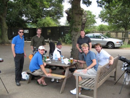 Great Day out on the course... After the game was enjoying too.