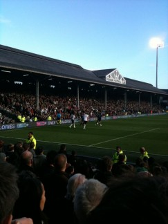 Craven Cottage (Fulham's home ground) is a good little stadium right in the burbs!!!