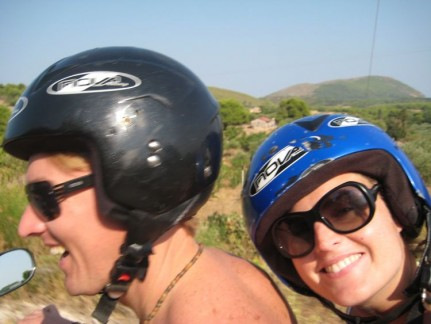 Riding Bandits. Its all about checking out the Island on quad bike!