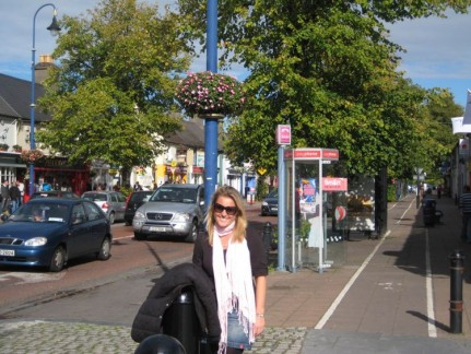 Lis in the main street of Maynooth
