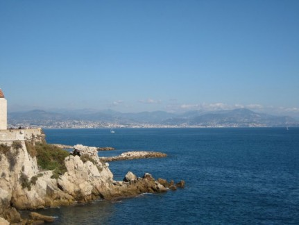The Coastline in Antibes