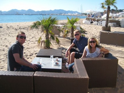 Coffee break in Cannes