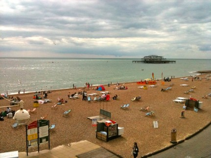 Brighton Beach. Southern England