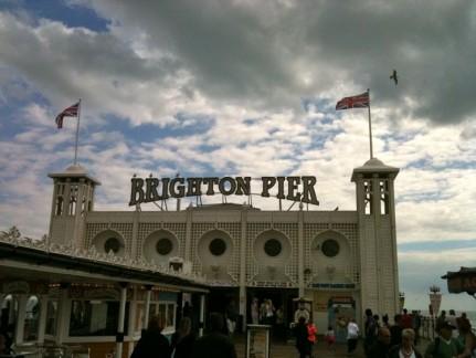 Iconic Brighton Pier.