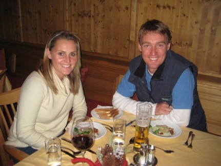 Our first night at Tilerhof Lodge in Zell am Ziller