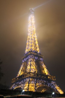 <p>No matter how many visits you've had, seeing the Eiffel Tower Sparkle is always a must...</p>