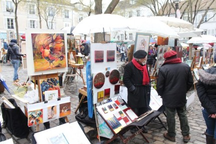 Artist markets near Sacre Coeur are well worth a visit. The experience gives you a real sense of 'Living Paris'