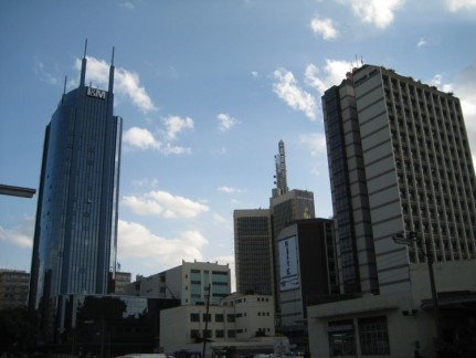 Nairobi CBD. It is not a huge city for 3 million people.