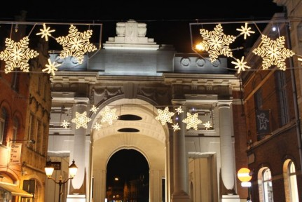 The Menin Gate in Ypres, France.