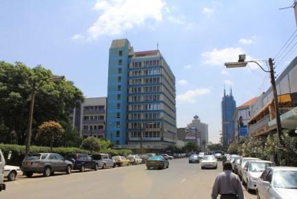 Streets of Nairobi.