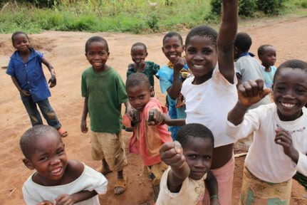 These gorgeous kids greeted us as we arrived at our first campsite in Tanzania...