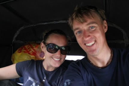 En route to Zanzibar with a quick Tuk Tuk ride before getting the Ferry over to the Island...
