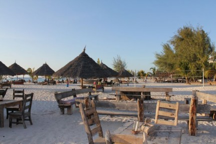 A great chill out zone on Kendwa Beach