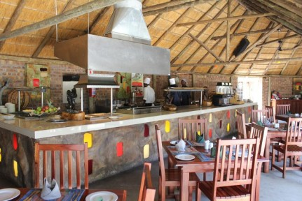 The Boma Restaurant...