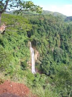 Waterfall near Livingstonia