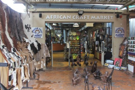 There are some fantastic African craft here and for a last minute African items, it serves a great purpose...