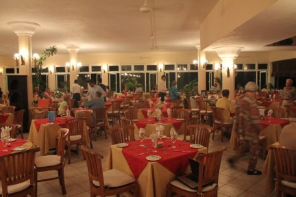 Each day we would enjoy a buffet breakfast and buffet or al a carte lunch and dinner.