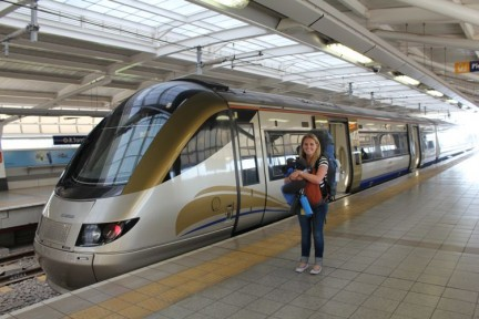 <p>Elissa and the Gautrain