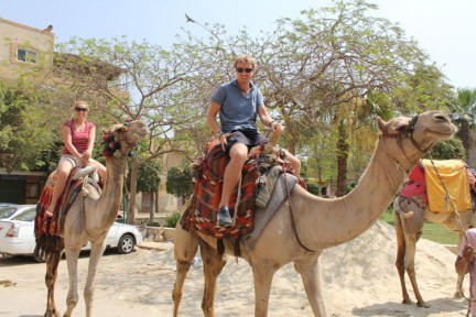 We hired camels and explored the area. It was a rip off however and we recommend searching for a good deal.