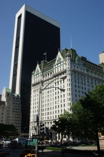 The Plaza Hotel by day...
