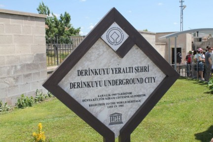 There are supposedly many underground cities in Turkey, the one we saw however is the biggest...
