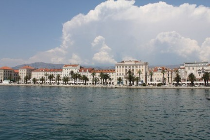 Beautiful Split and its harbour