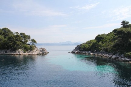 Another beautiful swimming bay near Mljet