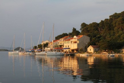 Mljet as the sun goes down