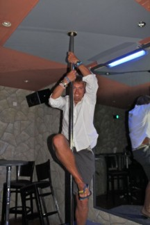 Can pole dance.....