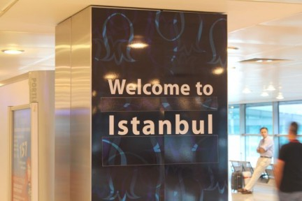 We met up at the Airport raring to see Istanbul...