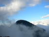 Pacaya Volcano in the clouds