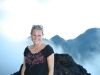 Lis at the top of the Volcano