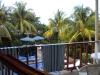 Our balcony view, Hotel Roca Sunzal, El Salvador