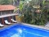Our balcony view, Hotel Roca Sunzal, El Salvador..