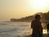 Sunset at El Tunco Beach, El Salvador