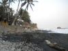 Black sands of El Tunco Beach, El Salvador