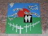 fromelles-school-remebrance-sign