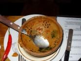 18. Empty bowl, Vindaloo finished